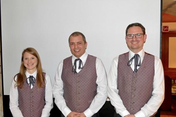 Führungs-Trio der Stadtkapelle Laakirchen